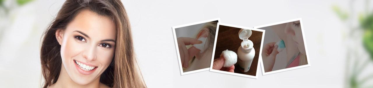 Premium Cotton Balls White - 50 Pcs